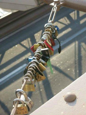 Brooklyn Bridge: Cadeados de juras de amor