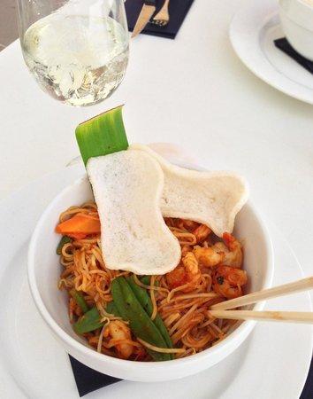 Saint Tropez Oceanclub : Jummy Shrimpi Shrimpi Wok