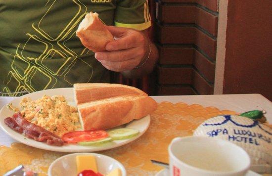 Sapa Luxury Hotel: Good breakfast at hotel