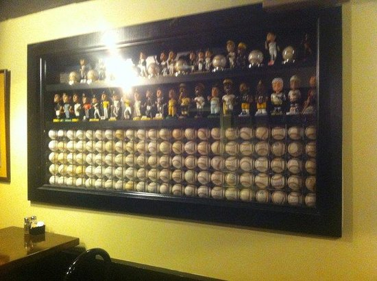 Clark Bar & Grill: collectable signed Pirate baseballs