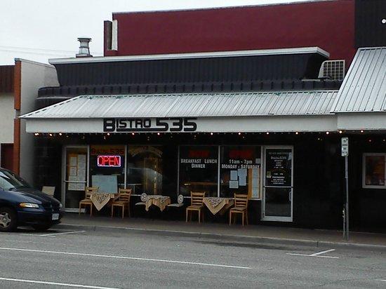 Bisto 535 & from Athena's Kitchen : Bistro 535 Storefront