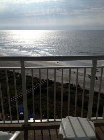 Avista Resort: Sunrise from the Deck!