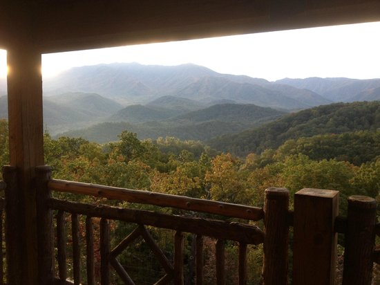 The Lodge at Buckberry Creek: View from our room
