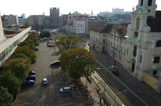 Hostel Blues: View from the roof terrace