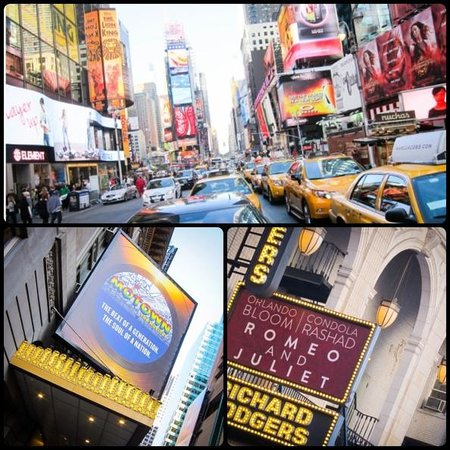 Paramount Hotel Times Square New York: Times Square and Broadway Shows