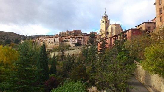 Meson Del Gallo: Vista desde el balcón de la habitación