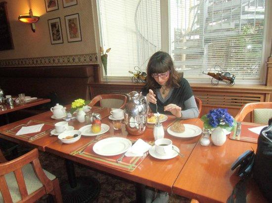 Georghof Hotel Berlin: colazione