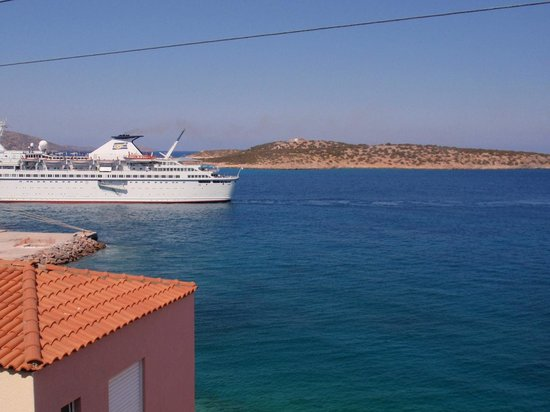 Pension Mylos: The island