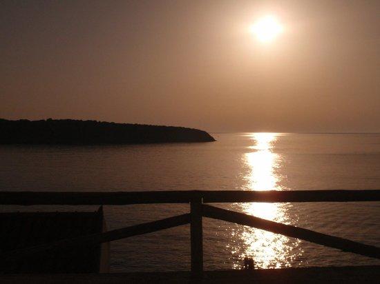 Pension Mylos: The sunrise