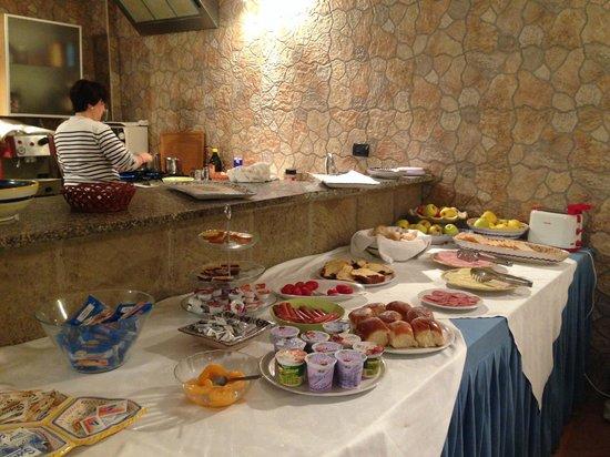 Villa Giovanna: Kahvaltı