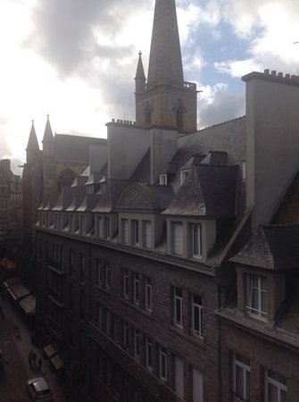 Hotel Cartier : what views!