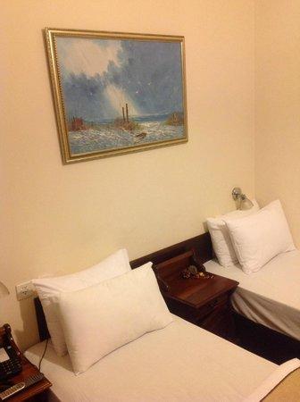 Sun City Hotel: Номер на 2 человека (раздельные кровати одинарки)