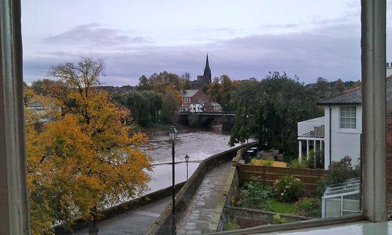 Chester Recorder House: The view from our bedroom window