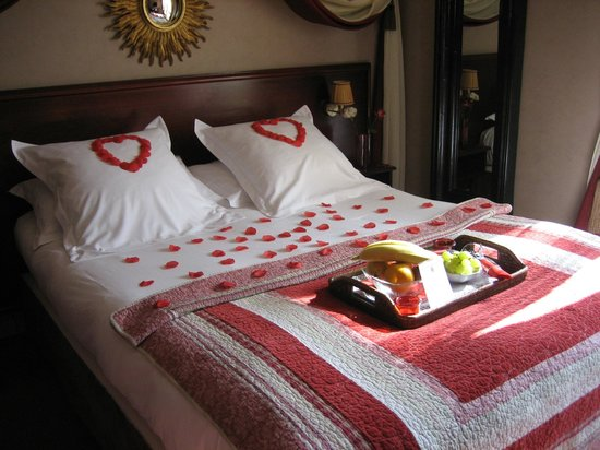 Hotel Britannique: Room with Romantic Package