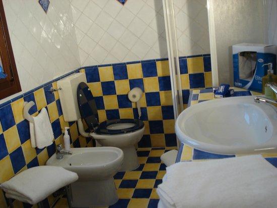 B&B Alla Panoramica : Il bagno