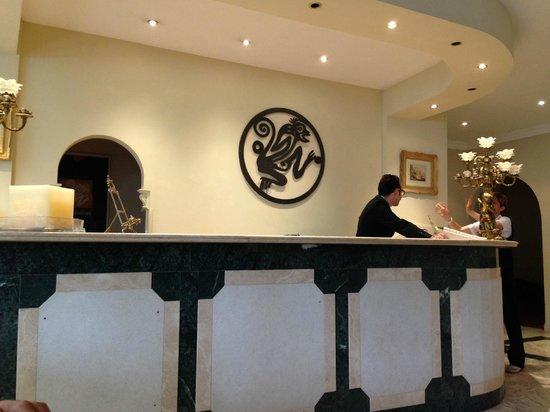 Park Hotel Villaferrata: resepsiyon