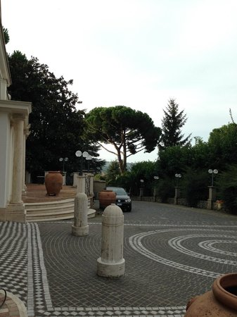 Park Hotel Villaferrata: manzara