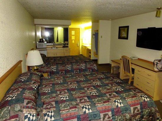 Yosemite Southgate Hotel & Suites : ruime kamers