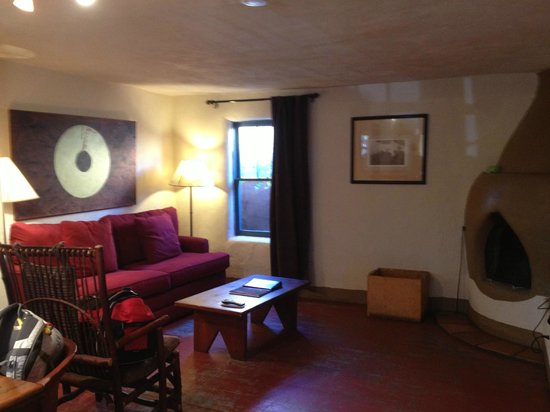 Las Palomas Inn Santa Fe: Sitting area