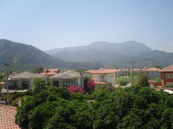 Sahin, Apartments: The Mountains of  Dalyan from the balcony