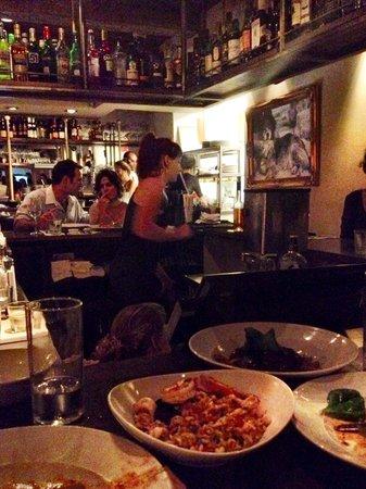 Shila - Sharon Cohen's Kitchen & Bar: Dinner at the bar