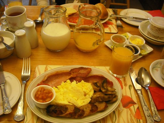 Beech House Guest House: Tasty breakfast!