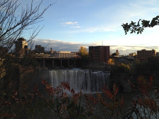 Genesee River's High Falls: High Falls, Facing East, I of II