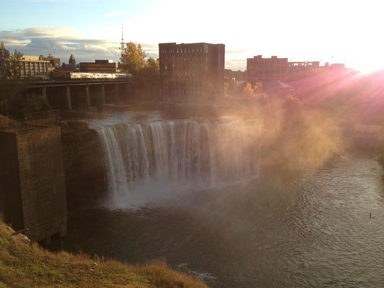 Genesee River's High Falls: High Falls, Facing East, II of II
