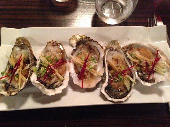 Sept'n : Fantastic oysters