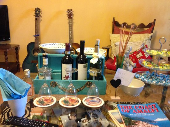 Villa Monica B&B : Wine?