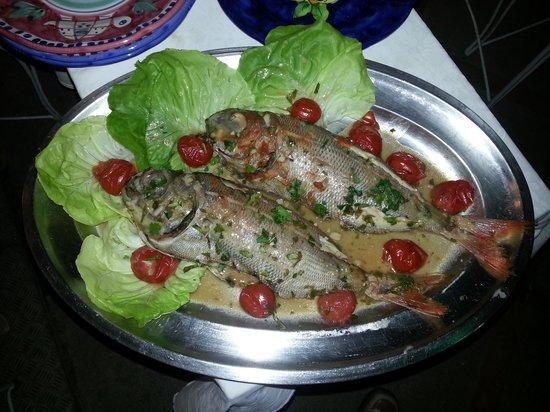 Al Barilotto Del Nonno: Dell'ottimo pesce