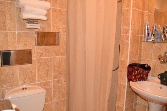 Hotel Kampa-Stara Zbrojnice: Bathroom