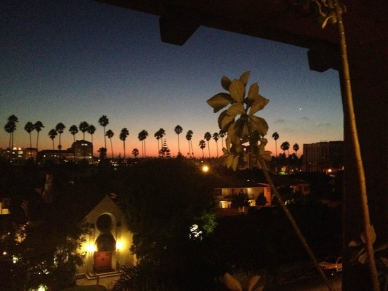 The Ambrose: Sunset view from my room
