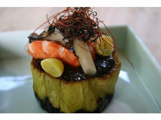 Bingoya: 米なすのしぎ焼き