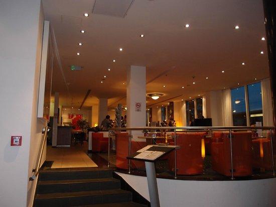 art'otel budapest: Main restaurant