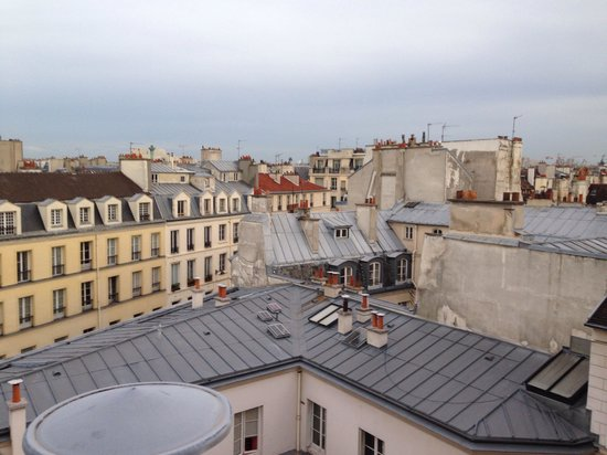 Les Toits du Marais : View from the fifth floor