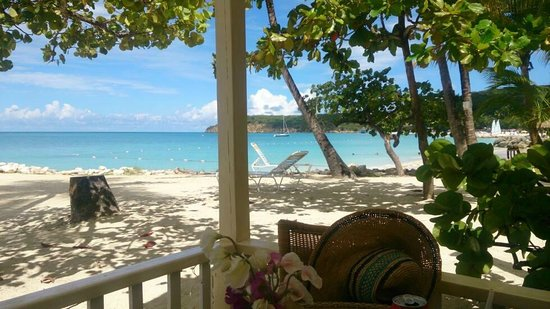 Siboney Beach Club: view from Coconut Grove