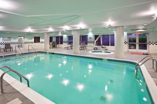 Hampton Inn Clifton Park : Indoor Pool
