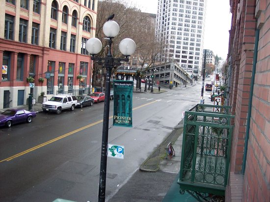 Best Western Plus Pioneer Square Hotel : Out the Balcony