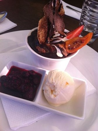 Marty's at Caba: chocolate mousse
