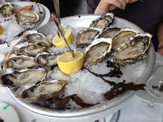 Chez Astoux : Good oysters, prices like in Paris