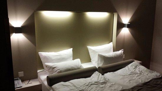 Nymphe Strandhotel & Apartments: Standardraum. Sehr fein.