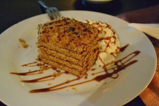 Creme Caffé Il Balcone : Honey cake