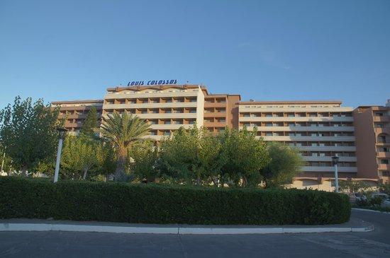 Louis Colossos Beach Hotel: общий вид
