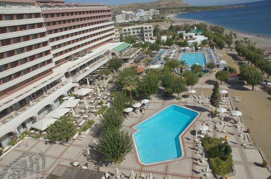 Louis Colossos Beach Hotel: боковой вид