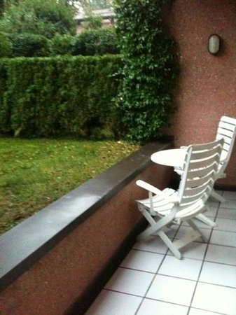 Villa Principe Leopoldo: terrasse