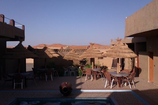 L'Homme Du Desert : Imagem da saída do quarto.