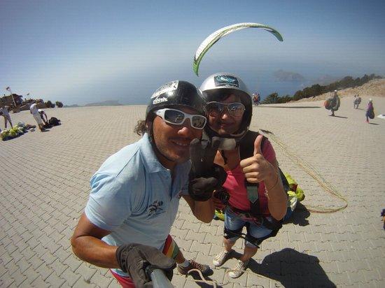 Sky Sports Paragliding: подготовка к прыжку)))