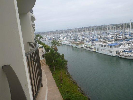 The Sheraton San Diego Hotel & Marina : On the balcony