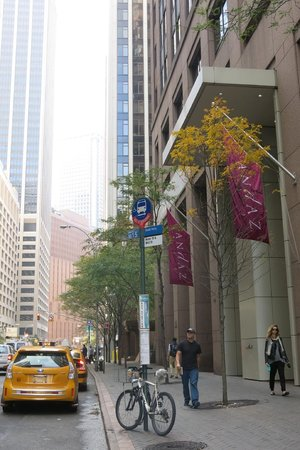 Andaz Wall Street: In front of hotel